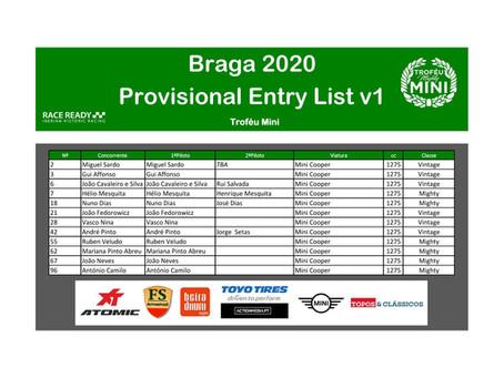 Troféu Mini em Braga nos dias 12 e 13 de Setembro