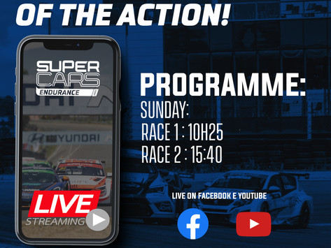 Supercars Endurance with Livestream for the first time in 2021!