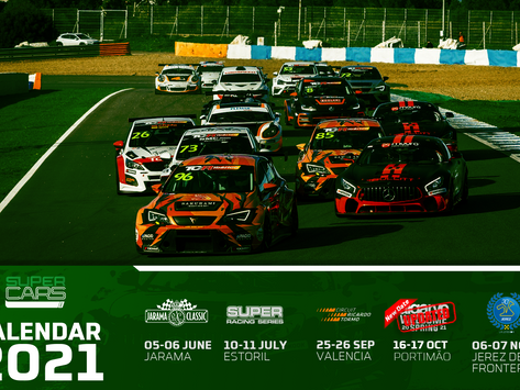Changing dates for the beginning of Supercars Series.