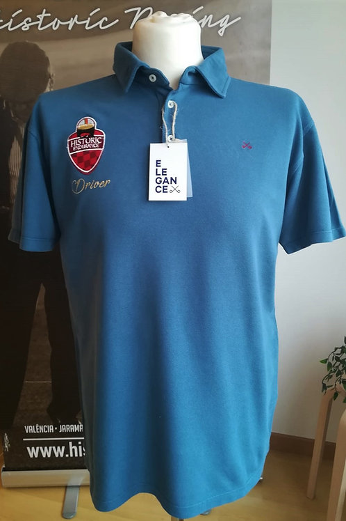 Polo Iberian Historic Endurance DRIVER Blue Navy