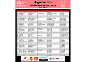 Group 1 Portugal arranca no Algarve com mais de 35 carros na grelha