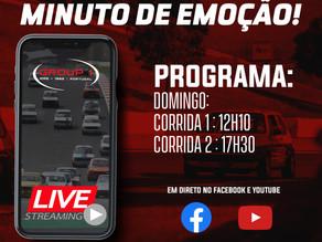 Supercars Endurance, Group 1 Portugal E Troféu Mini Com Transmissão Em Direto.