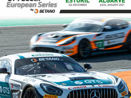 New 2020 calendar for the GT4 South European
