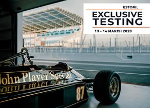Bilhetes limitados para o Exclusive Test Day com Fórmula 1 Históricos
