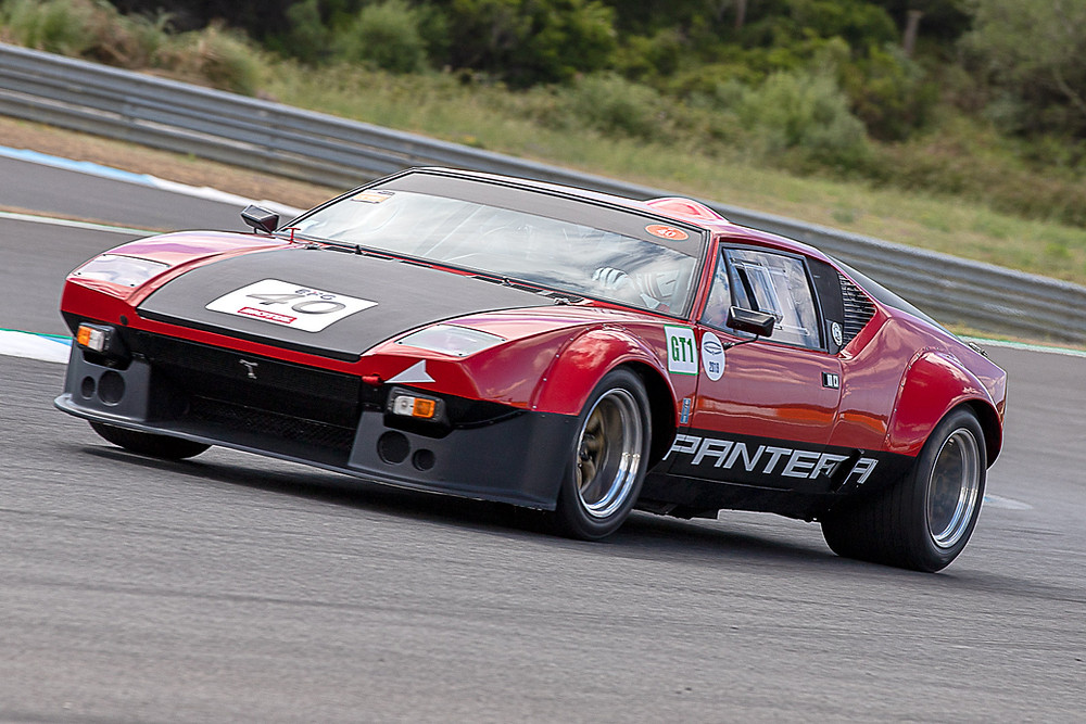 De Tomaso Pantera no Estoril Test Day