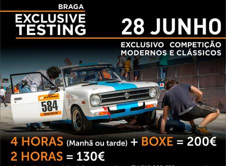 Exclusive Test Day em Braga marca regresso dos eventos da Race Ready