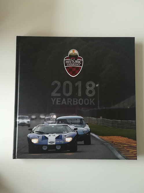 Yearbook 2018 Iberian Historic Endurance Spanish