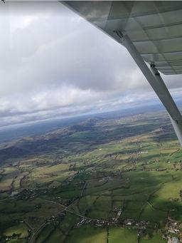Malvern Hills, aerial view