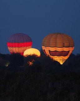 Balloons firing up, Pennington
