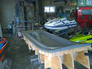 New Carbon Ski Layup