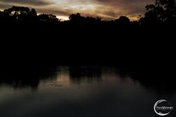 PASTEL LAKE LANDSCAPE
