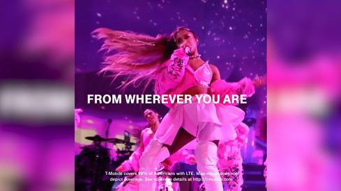 Ariana Grande x T Mobile x BBMA