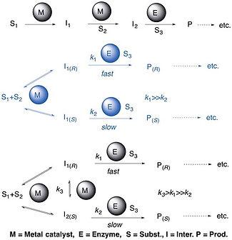 Integrated Heterogeneous Metal-Enzymatic