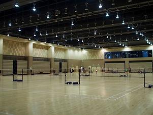ActiveSG Badminton Courts at the Communi