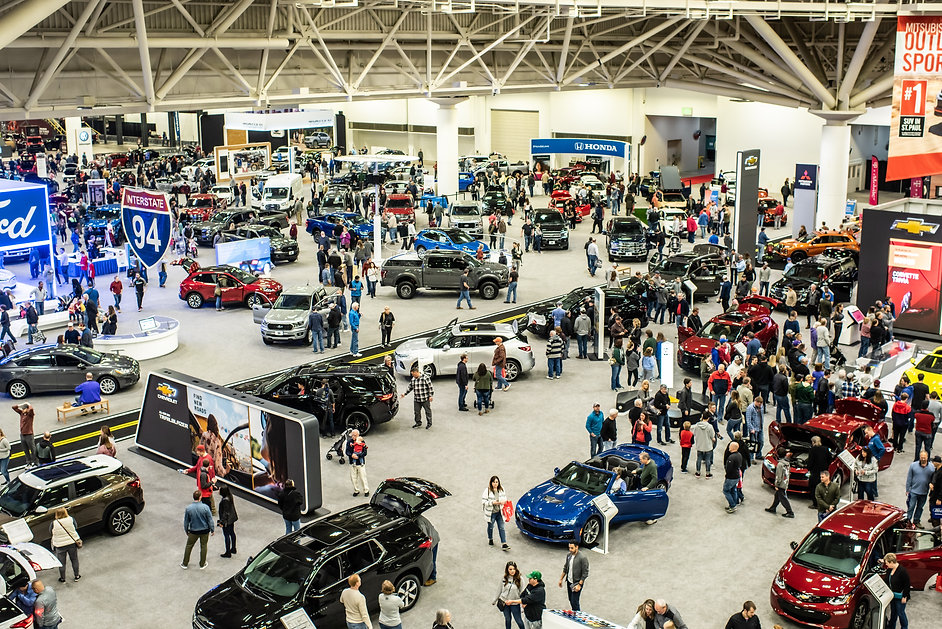Twin Cities Auto Show Floor