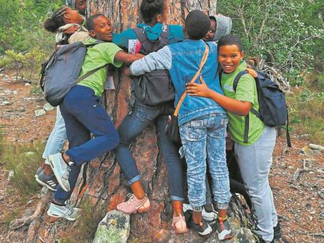 Kinders Kaap toe met borgskap