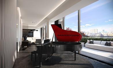 Elevator Lobby Lounge View