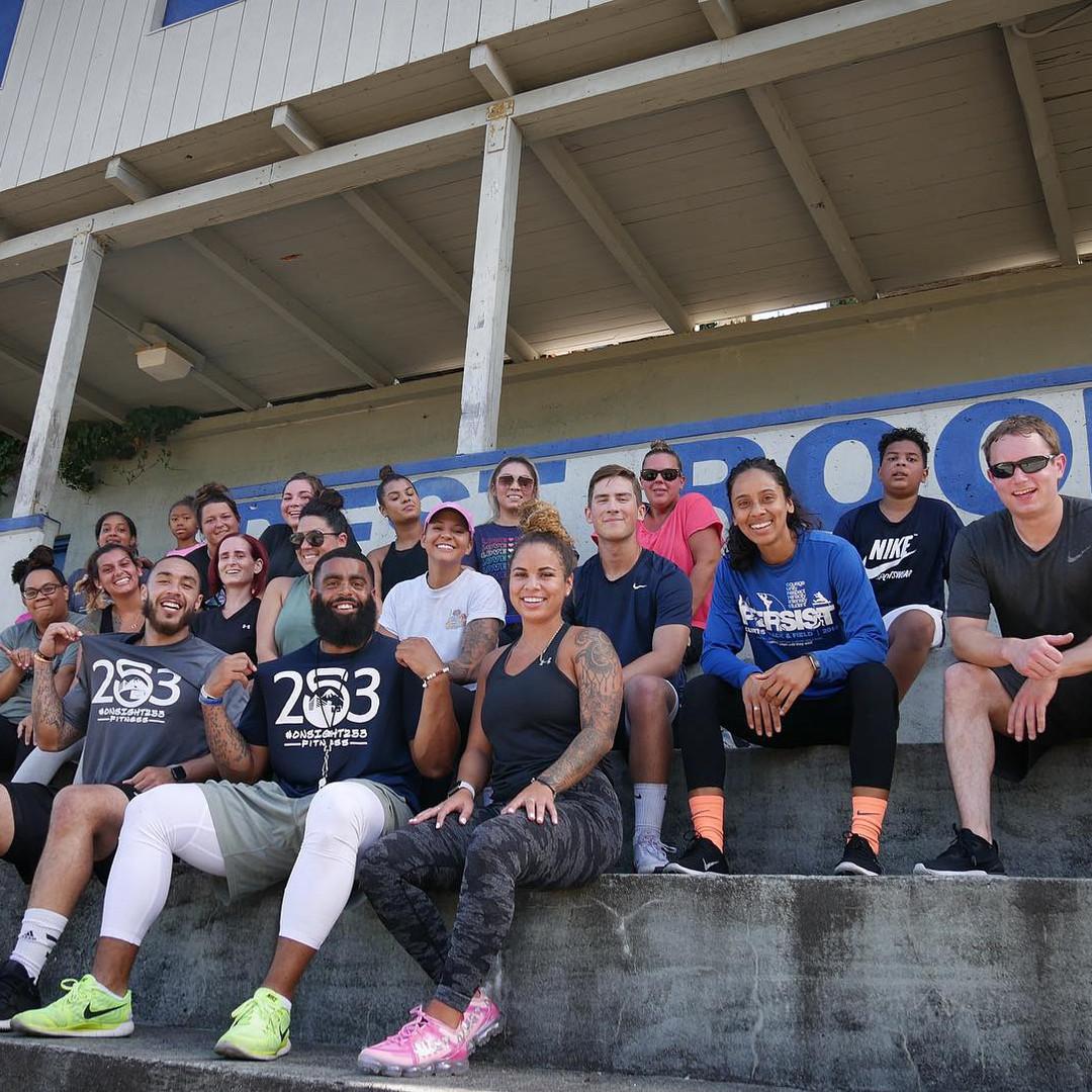Training in the Stadium Bowl
