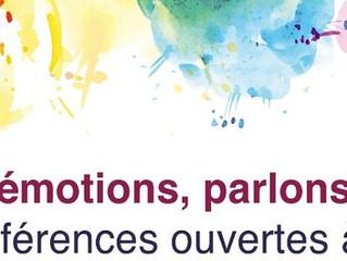 2 conférences sur les émotions ouvertes à tous sur Annecy en mai et juin !