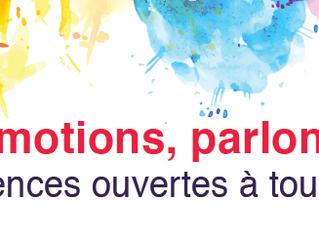"""3 conférences sur les émotions lors du salon """"On est bien"""" à Annecy les 28, 29 et 30 septe"""