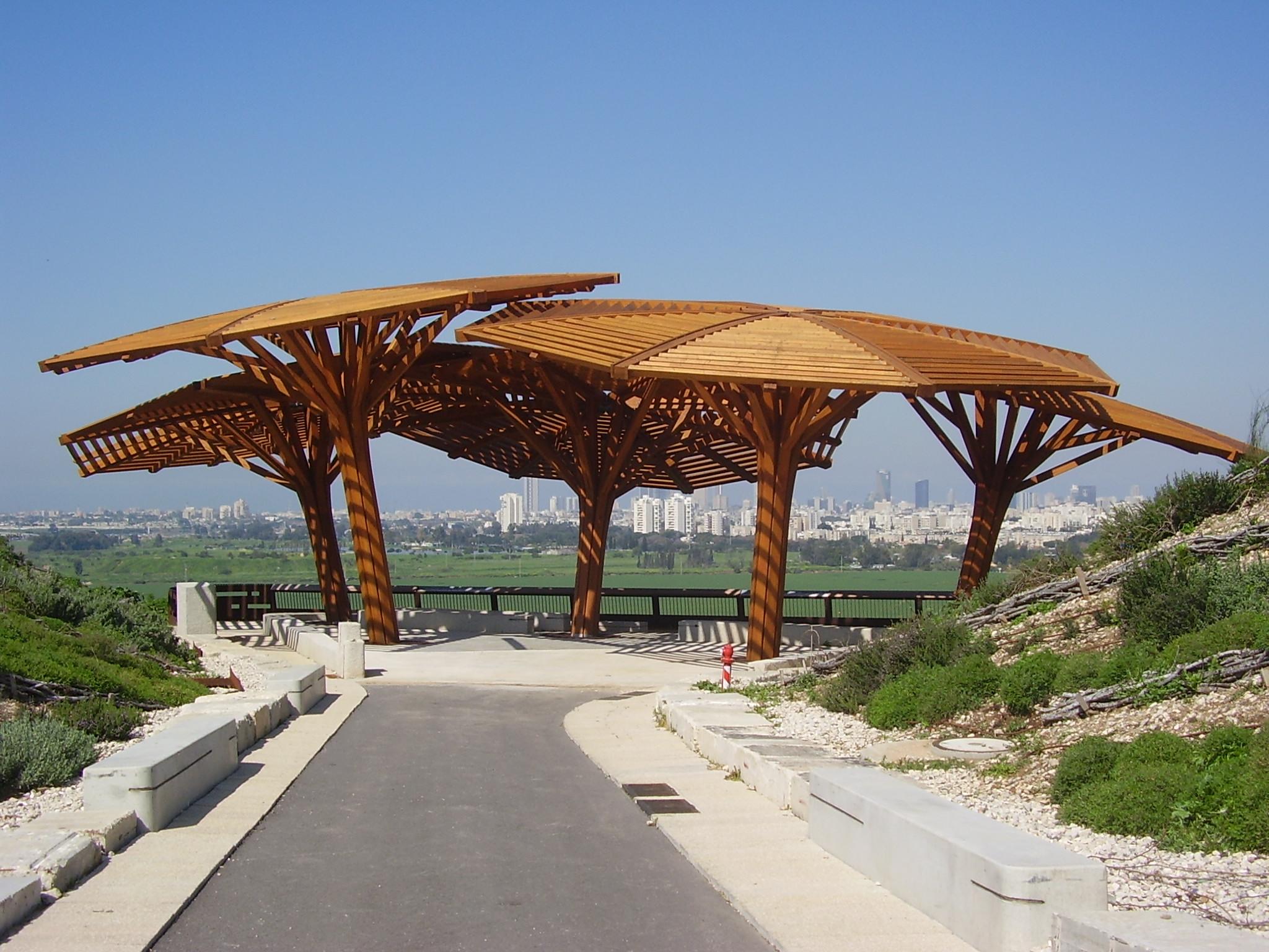 חוות דעת הנדסית לפרגולה בפארק חיריה
