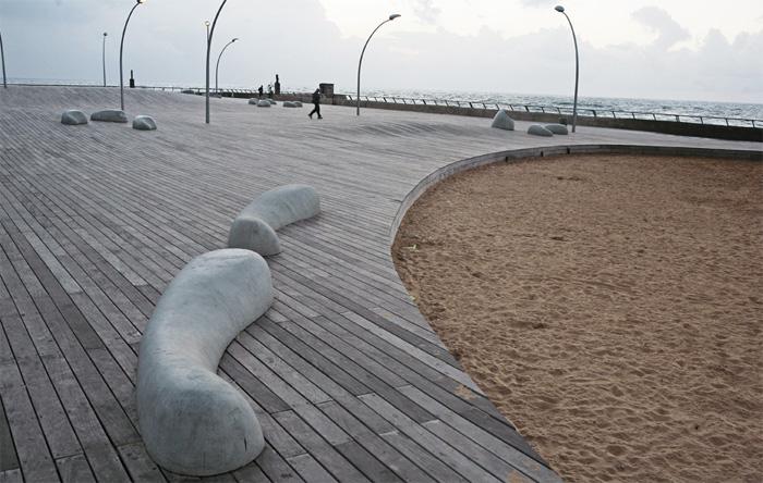 ייעוץ הנדסי לדק עץ טיילת נמל תל אביב