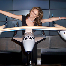 In London for a Virgin Galactic Event