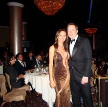 Elon Musk + Natasha Pavlovich