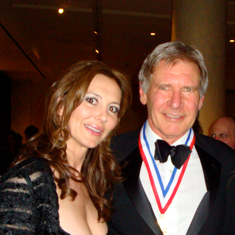 Harrison Ford and Natasha Pavlovich