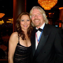 Richard Branson + Natasha Pavlovich