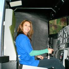 Centrifuge training at Nastar, Philadelphia