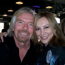 My buddy Richard Branson.