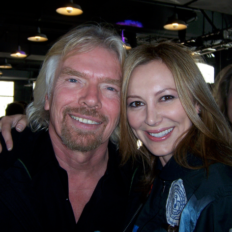 My buddy Richard Branson.
