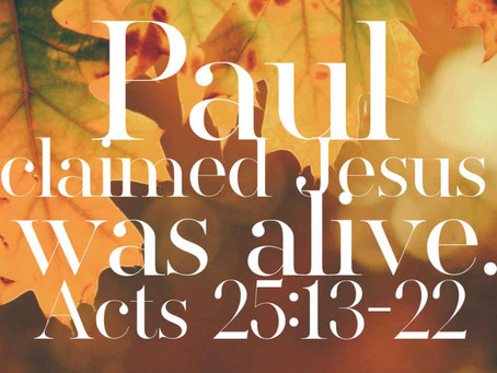 Acts 25 Reading Guide
