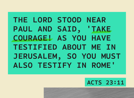 February 20 - Acts 23