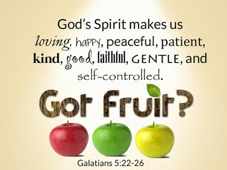 March 24 - Galatians 5