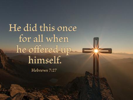March 9 - Hebrews 7