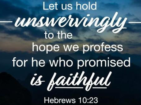 March 12 - Hebrews 10