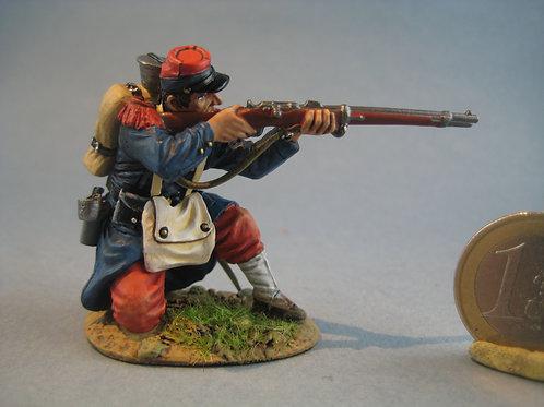 TEAM MINIATURES -REF PFW-F6002 -Guerre de 70- Infanterie tireur à genoux