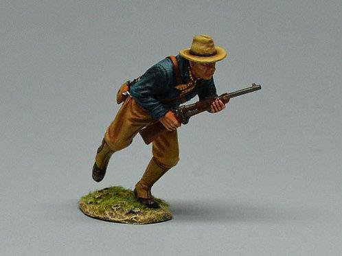 TEAM MINIATURES -REF SPA6003- GUERRE  CUBA 1898 - SOLDAT US A L'ASSAUT