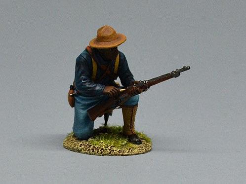 TEAM MINIATURES -REF SPA6007- GUERRE  CUBA 1898 - SOLDAT US RECHARGEANT