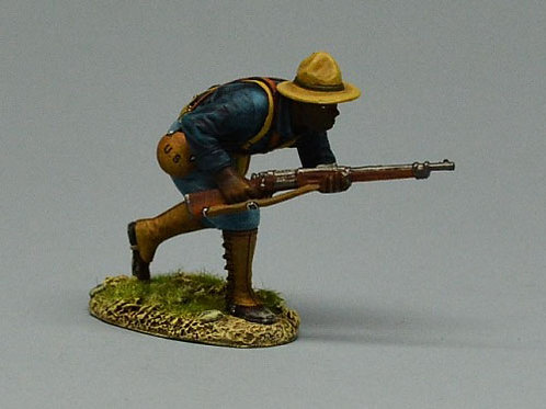 TEAM MINIATURES -REF SPA6005- GUERRE  CUBA 1898 - SOLDAT US EN APPROCHE