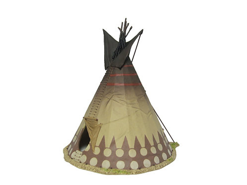 TEAM MINIATURES -REF IDA6012-   Tepee indien 3