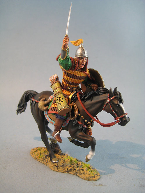 TEAM MINIATURES -REF MGL6006 - MONGOL CHARGEANT AVEC SABRE 1