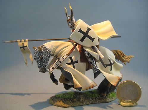 TEAM MINIATURES -REF BOL6003-Chevalier Teuton  chargeant avec lance