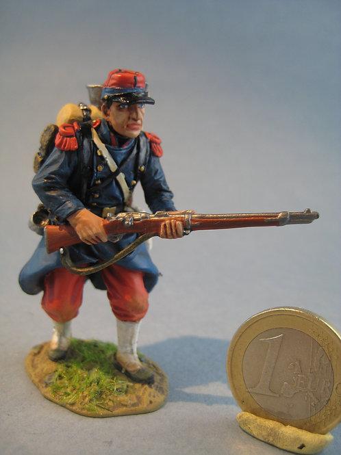 TEAM MINIATURES -REF PFW-F6007 -Guerre de 70- Soldat en approche