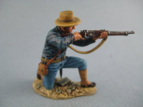 TEAM MINIATURES -REF PGUS6006-PEKIN 1900 - SOLDAT US TIREUR A GENOUX