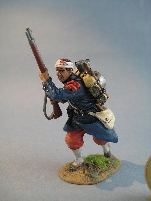 TEAM MINIATURES -REF PFW-F6005 -Guerre de 70- Soldat blessé  chargeant