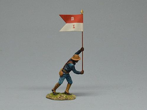 TEAM MINIATURES -REF SPA6012- GUERRE  CUBA1898 - SOLDAT US PORTE-ETENDARD 2