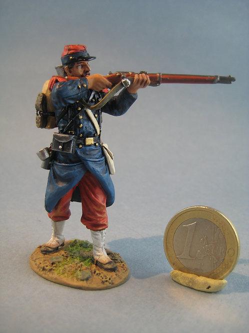 TEAM MINIATURES -REF PFW-F6001 -Guerre de 70- Infanterie tireur debout